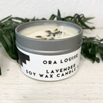 Lavender Soy Wax Candle 4oz