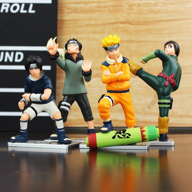 4 Pieces Naruto PVC Figure