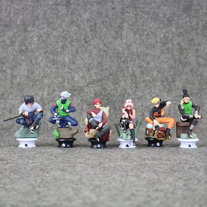 6 Pieces Naruto Figures