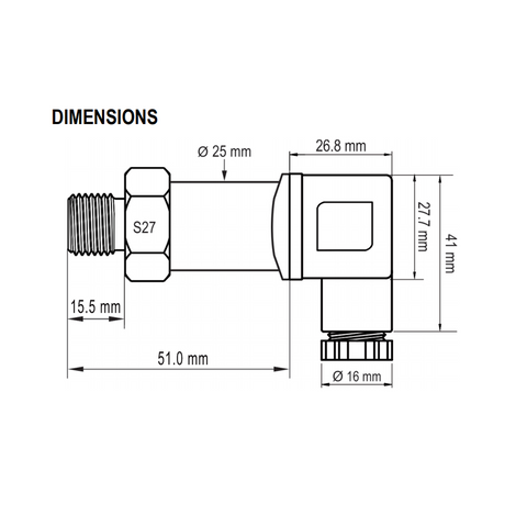 NP400 Dimensions