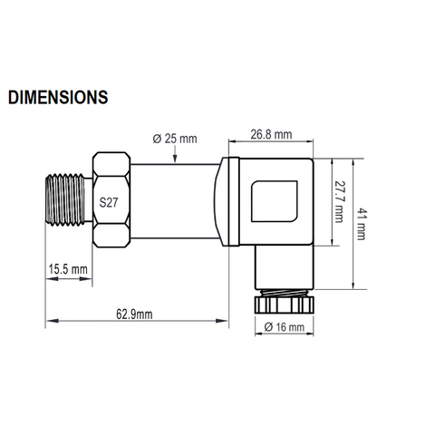 NP640 Dimensions
