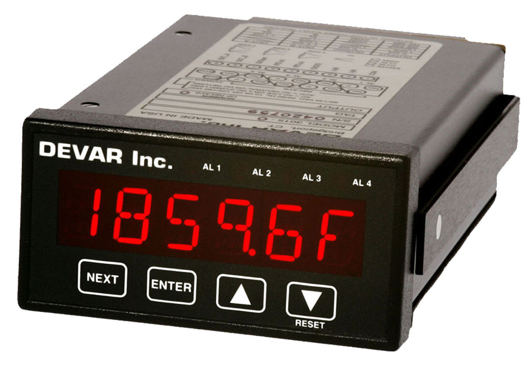 Devar's 3015 Series: Thermocouple/RTD Temperature Controller