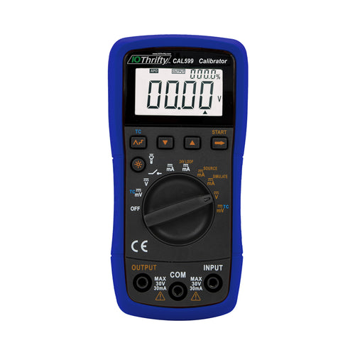 CAL599 Thermocouple and Process Signal  Meter and Signal Source