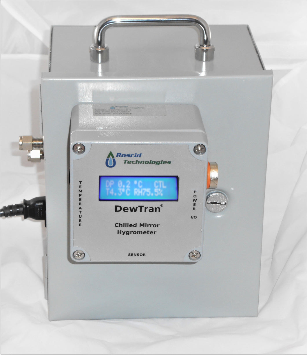 High Temperature Heated Chilled Mirror Hygrometer, Roscid Model - Dewtran-HB