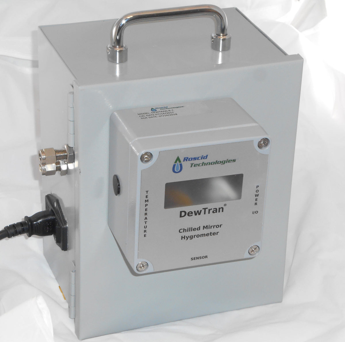Dewtran Hb Chilled Mirror Hygrometer For High Temperature