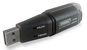 General Tool's DL-GT-HT08 Temperature and  Humidity  USB Data Logger with GPP Calculation