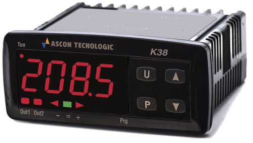 Ascon's K38 series PID Temperature Controllers
