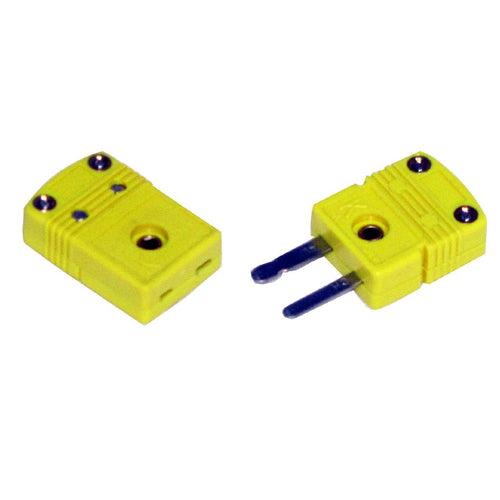 Miniature Thermocouple Connectors - Male/Female Pair