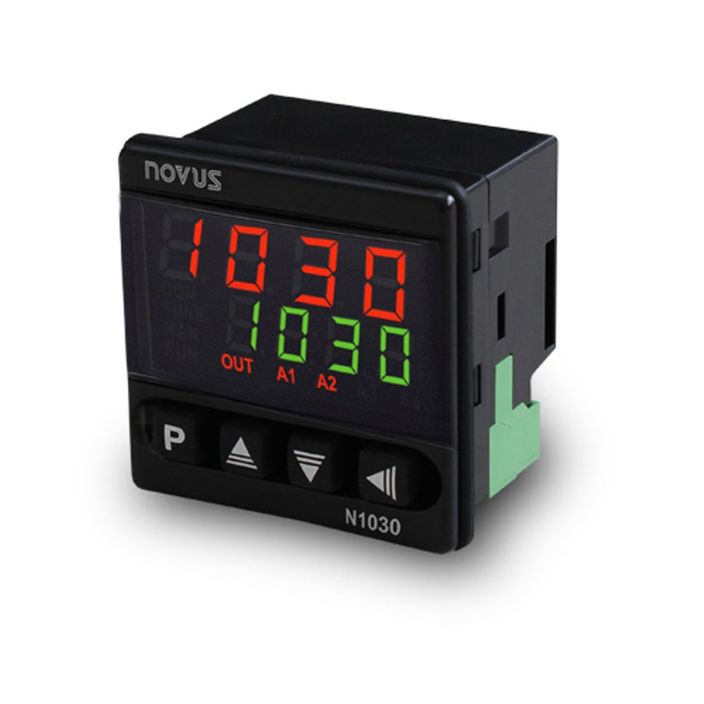 N1030 PID Temperature Controller with 35mm Depth 1/16 DIN Size