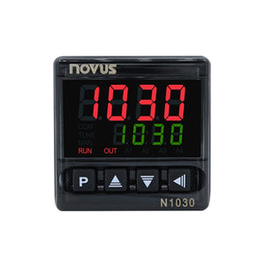 The N1030 PID temperature controller features a bright display