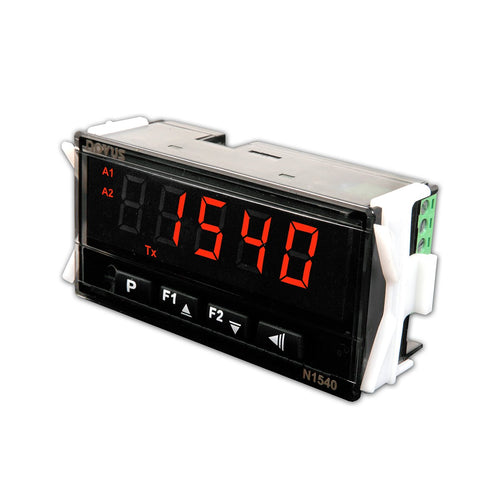 N1540 Universal Process Panel Meter for Thermocouples, RTDs, Voltage and Current, 1/8 DIN