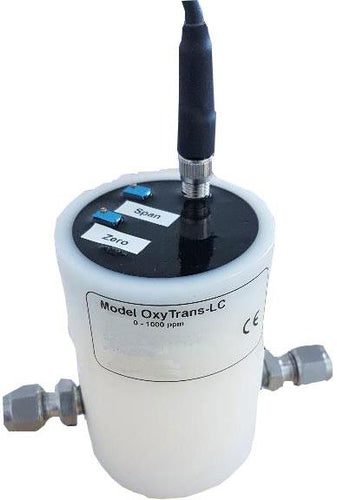 Roscid's OXYTRANS LC OEM Series is one of the Industries Lowest Cost 4-20 mA Loop Powered Two Wire Oxygen Transmitters