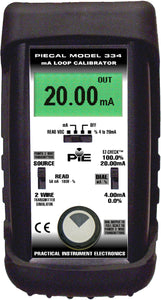 PIE 334, 4-20 mA Loop Calibrator