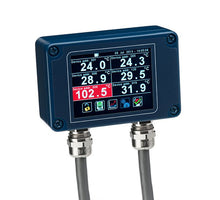 PM180 6-channel Modbus Pyrometer Hub with Data Logging