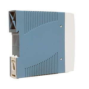 Unregulated DIN Rail Mount Power Supply - Side View