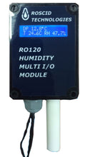 RO120-W-B-DIS High Accuracy Wall Mount Temperature, Barometric Pressure and Humidity Transmitter with Display