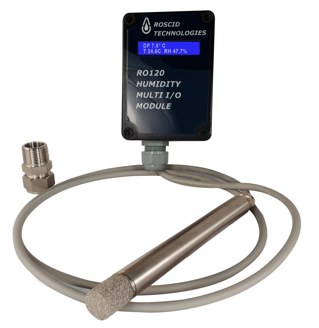 Roscid RO120-DIS Sensor with Electronics Unit
