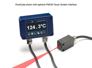 PyroCube S Series Infrared Temperature Sensor with PM030 Touch Screen Interface