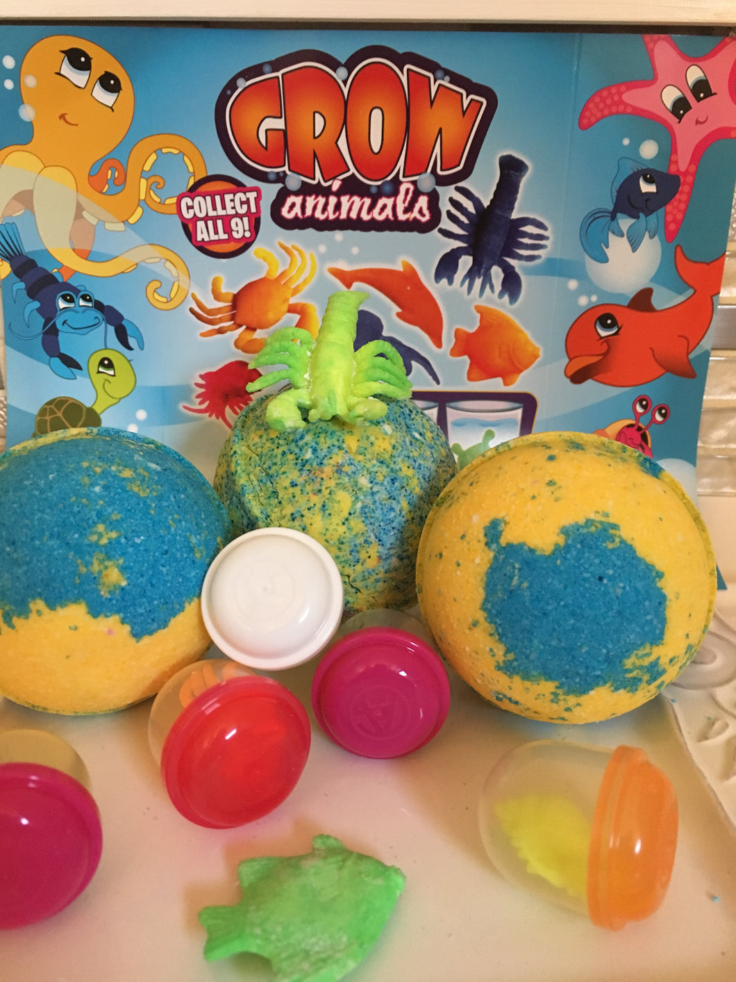Toy Surprise - Bath Bombs Baby LLC