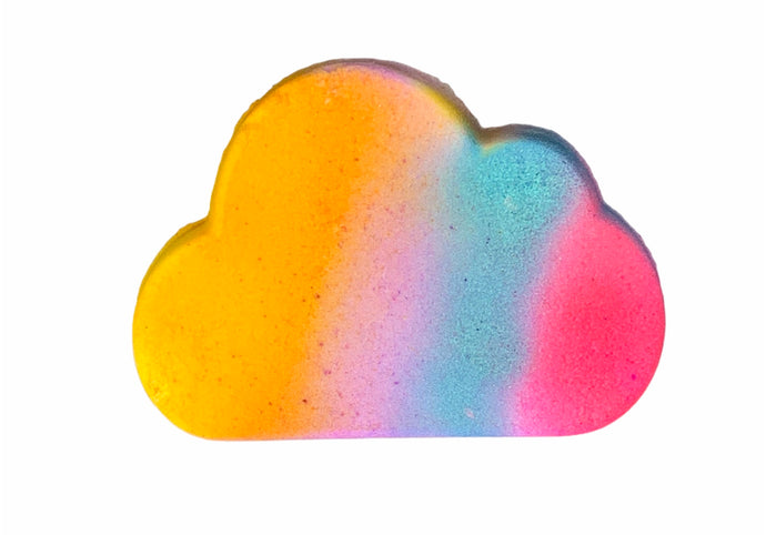 Cloud Rainbow Bath Bomb