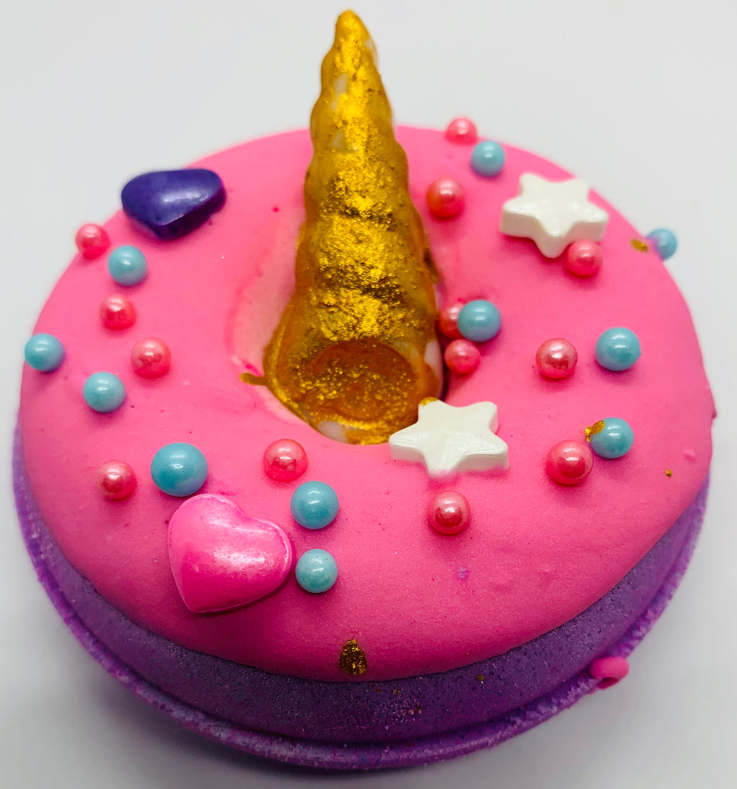Unicorn Bath Bomb Donut