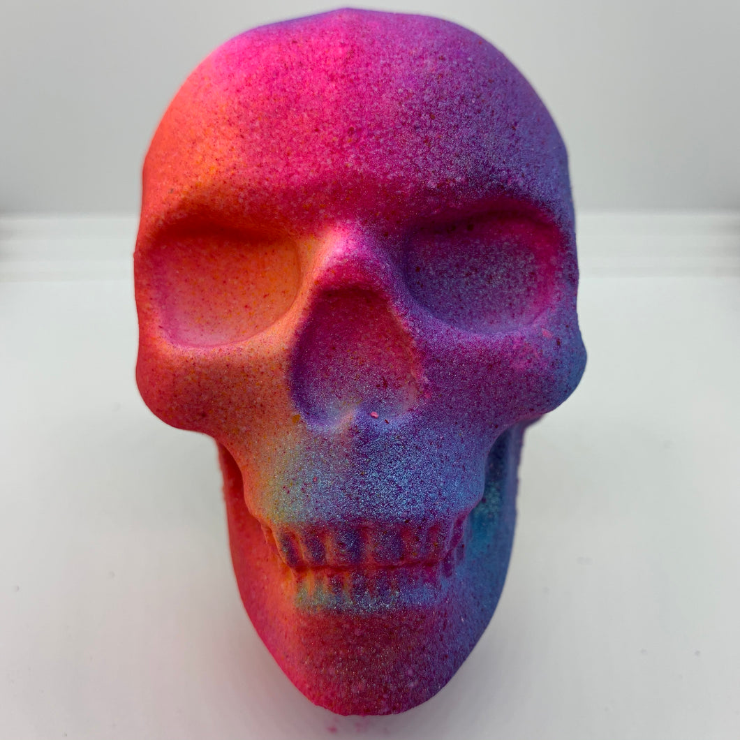 Halloween Candy Skull Bath Bomb