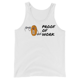 Proof of Work Unisex Tank Top