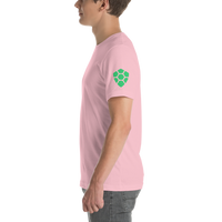 TurtleCoin sleeve logo Short-Sleeve Unisex T-Shirt