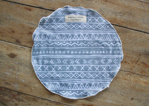 Tribal burp cloth