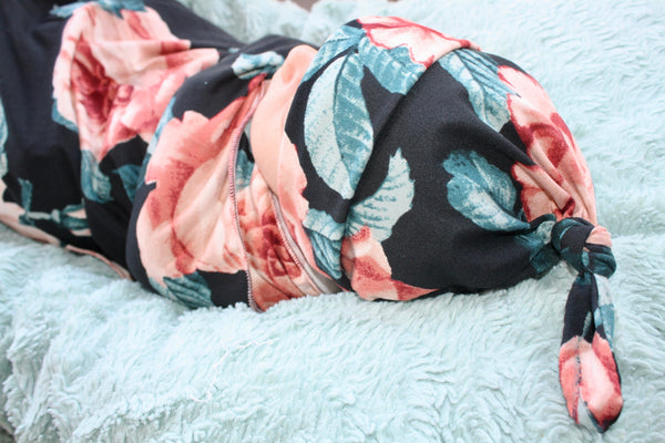 Newborn Swaddle Set Floral