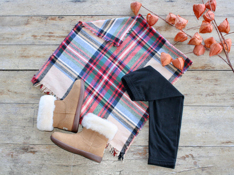 Flannel Poncho