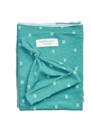 Newborn Swaddle Set Arrows