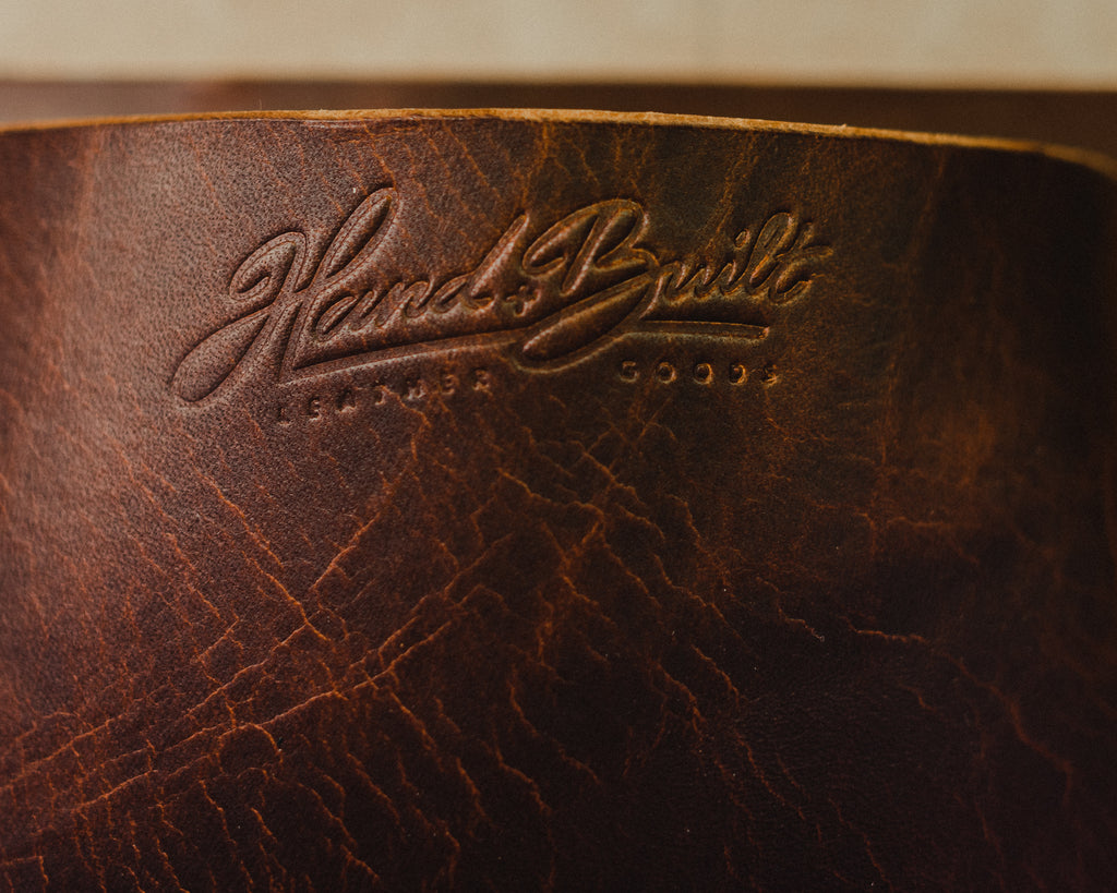 full grain leather hide