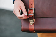 H+B CLASSIC | BURNT UMBER LEATHER