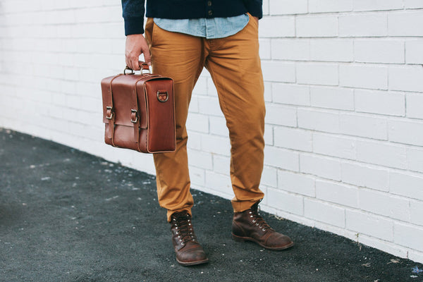 H+B CLASSIC | SEDONA BROWN LEATHER BAG