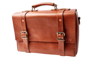 H+B LEATHER BAG | CLASSIC SEDONA BROWN LEATHER BAG