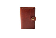 H+B NOTEBOOK/PASSPORT HOLDER | BURNT UMBER LEATHER