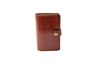 H+B NOTEBOOK/PASSPORT HOLDER | ESPRESSO BROWN LEATHER