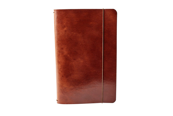 H+B MEDIUM JOURNAL | ESPRESSO BROWN LEATHER