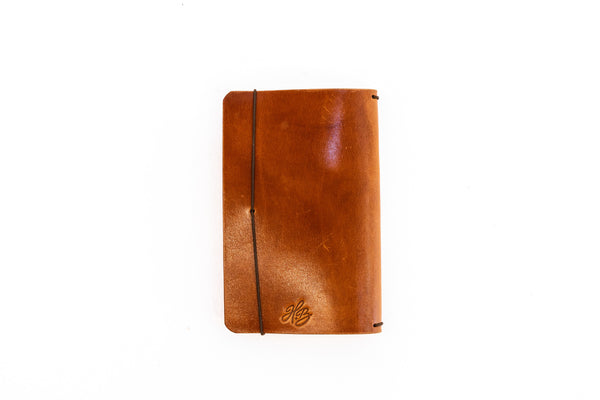 H+B Field Notes JOURNAL | BUCK BROWN LEATHER