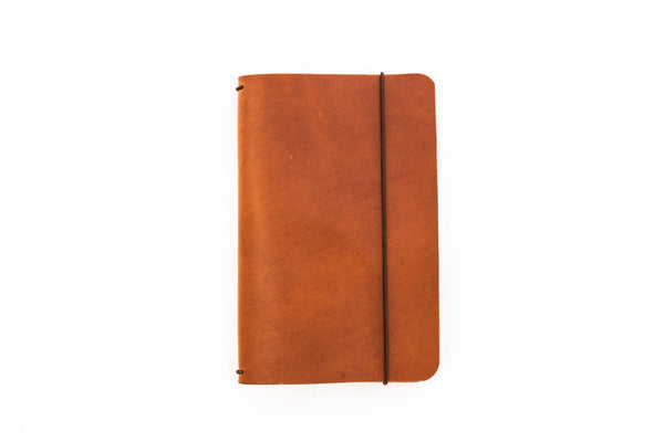 H+B Field Notes JOURNAL | TAN LEATHER JOURNAL