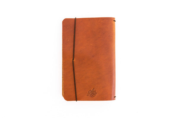 H+B Field Notes JOURNAL | TAN LEATHER