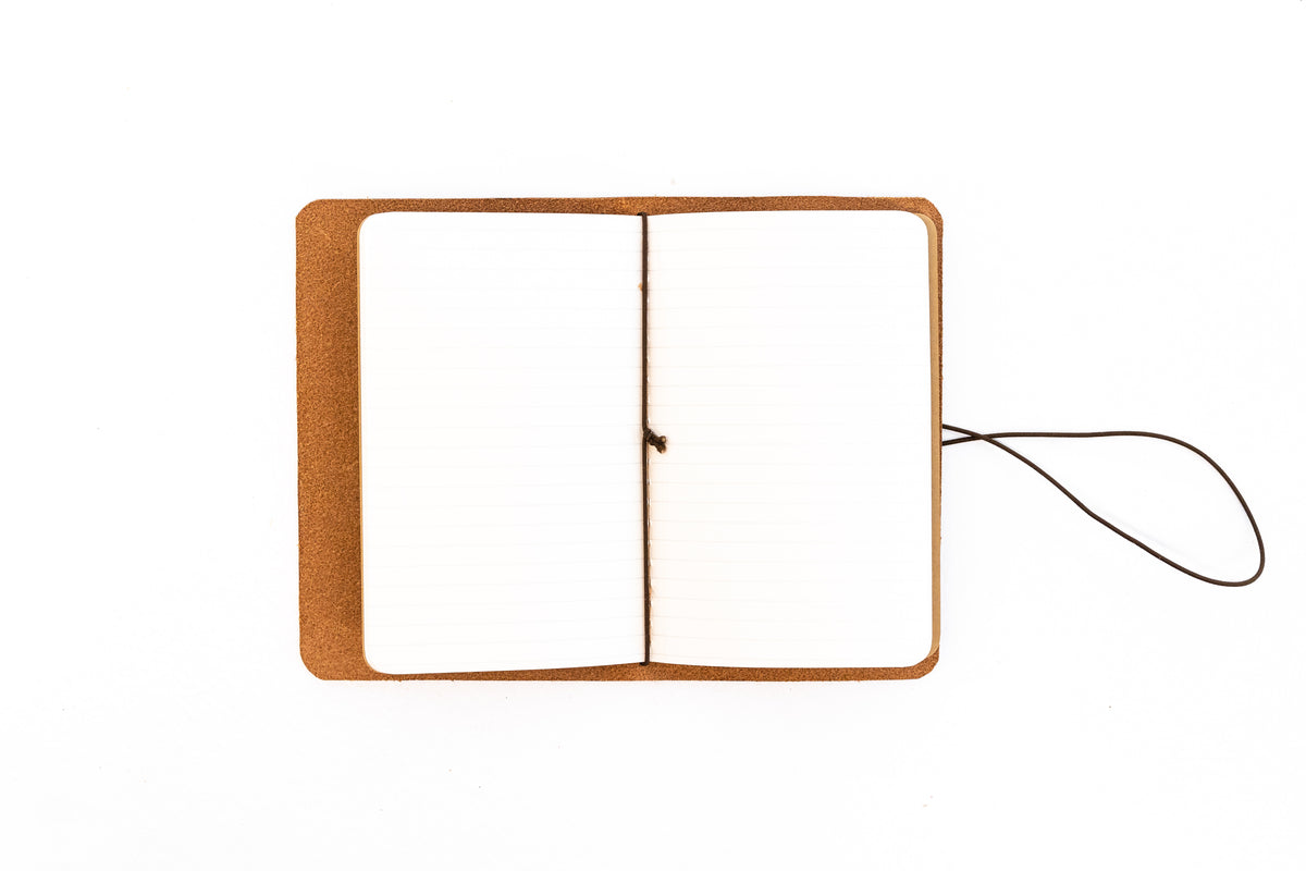 H+B FIELD NOTES JOURNAL | BUCK BROWN LEATHER JOURNAL