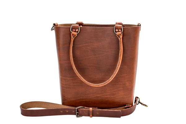 H+B Everyday Tote | Premium Edition | Tan Leather
