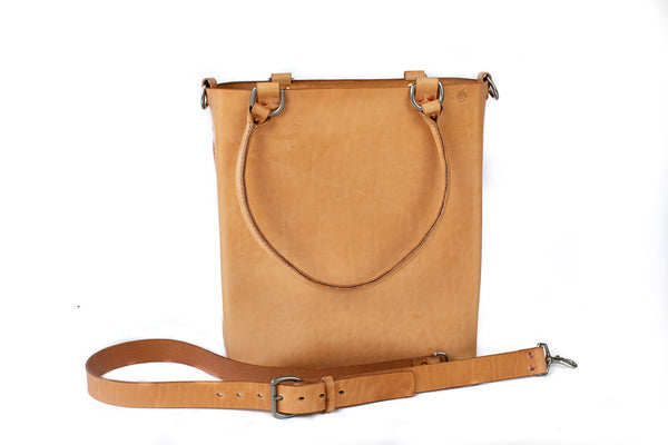 Leather Tote Bag | H+B Everyday Russet Leather Tote Bag | Premium Edition