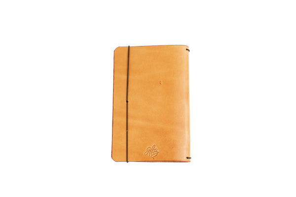 H+B Field Notes JOURNAL | RUSSET LEATHER