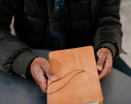 H+B MEDIUM JOURNAL | RUSSET LEATHER
