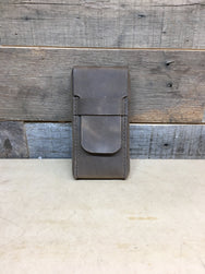 H+B CIGAR CASE DISTRESSED  LEATHER