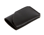 H+B CARD WALLET | BLACK LEATHER WALLET
