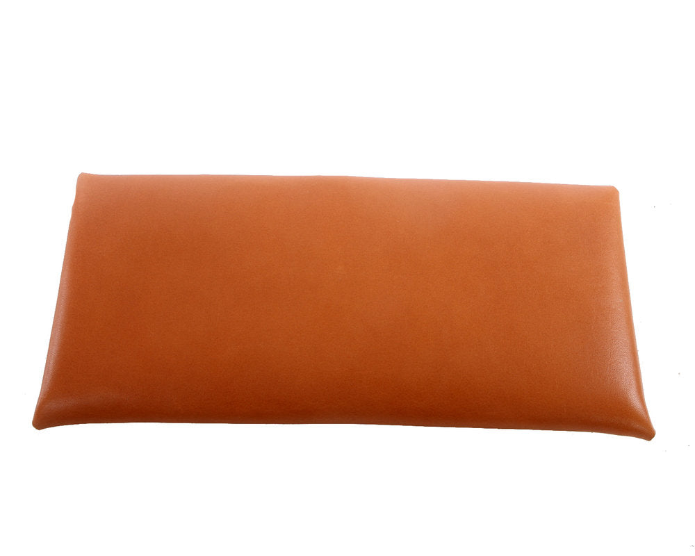 H+B CLUTCH | TAN LEATHER